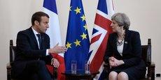 Emmanuel Macron n'a pas cédé à Theresa May sur les modalités de négociations du Brexit.