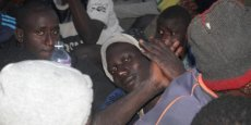 DES CENTAINES DE MIGRANTS SECOURUS AU LARGE DE LA LIBYE