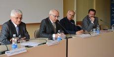 Jacques Rubio, Jean-René Etchegaray, André Garreta, Vincent Poulou