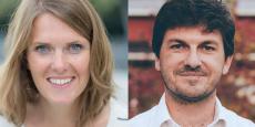 Alix de Sagazan et Rémi Aubert, les deux cofondateurs de la startup française AB Tasty