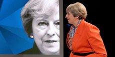 La Première ministre Theresa May sur le plateau de Sky News et de Channel 4, lundi 29 mai.
