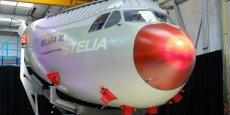 Le nez rouge du futur Beluga XL