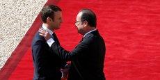 Cadeau de départ de François Hollande à Emmanuel Macron : une légère reprise de l'économie.