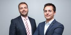Vincent Menny, président de Authentic Material et son associé Dimitri Mazars