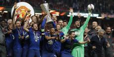 Manchester United a remporté la Ligue Europa face à l'Ajax Amsterdam, le 24 mai dernier.