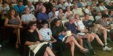 Quelque 300 habitants étaient présents, ce lundi, lors d'une réunion publique consacrée à l'arrivée de la fibre.