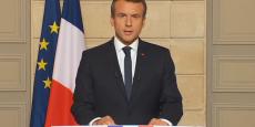 Macron se pose en chef de file face au changement climatique