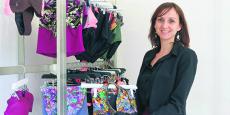 L'informatique et le numérique m'ont attirée, j'en ai fait mon premier métier mais la passion pour le textile a été plus forte, explique Marie Spinali.