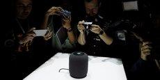 L'enceinte connectée d'Apple, baptisée Homepod, sera vendue 349 dollars aux Etats-Unis.