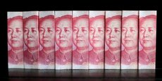 Les entreprises chinois ont investi 183 milliards de dollars, contre 128 milliards l'année précédente, soit une augmentation de 44%.