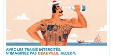 Dans la perspective des prochaines vacances estivales, la SNCF entend mieux faire connaître ces trains pas suffisamment identifiés avec une campagne d'affichage empreinte d'un ton humoristique qui se veut léger, et qui démarrera le 13 juin.