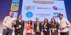 Les lauréats du Forum des innovations en distribution alimentaire, hier soir à Périgueux