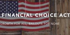 « Il faut se débarrasser de Dodd-Frank. Les banques ne prêtent plus d'argent à ceux qui en ont besoin. Ce sont les régulateurs qui dirigent les banques » avait déclaré Donald Trump durant la campagne présidentielle américaine.