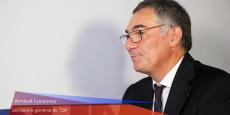 Arnaud Lucaussy précise tous les domaines d'intervention de TDF en matière de télécommunications.