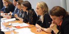 Célia de Lavergne (à droite), Alice Thourot (au centre) et Latifa Chay (à gauche). Ces jeunes femmes étaient toutes les trois candidates au 1er tour. Alice Thourot a devancé Franck Reynier dans la Drôme.