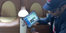 QI Tablet enables quality inspection of aircraft cabin elements