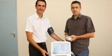 Emmanuel Sicard (Président) et Olivier Galy (directeur général) misent sur la médecine prédictive