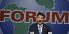 Le président chinois Xi Jinping durant son discours au Forum Chine-Afrique de Johannesburg, le 4 décembre 2015.