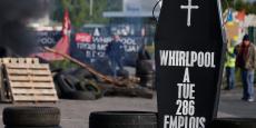 Les salariés de Whirlpool à Amiens s'étaient mis en grève entre le 24 avril et le 5 mai, un conflit qui a fait irruption dans la campagne présidentielle avec la double visite d'Emmanuel Macron et de Marine Le Pen.