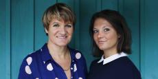 Armelle Riou et Marie Thévenet, fondatrices de Mental'O.