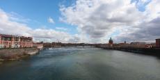 La Garonne est le 3e fleuve français en terme de débit
