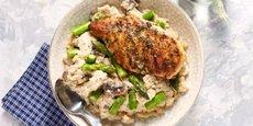 Fondée en 2015, la société américaine Freshly propose des plats préparés frais et livre à domicile.