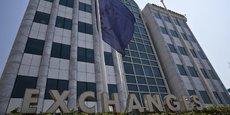 L'indice de référence de la Bourse d'Athènes (photo) a progressé de 27,5% depuis le 1er janvier.