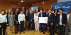 Le 21 juin 2017, la CCI 34 a signé une convention de partenariat avec 32 réseaux économiques de l'Hérault.