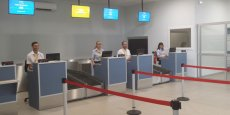 La nouvelle zone d'enregistrement de l'aéroport