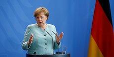 La chancelière allemande Angela Merkel avait dénoncé un coup porté à l'Europe.