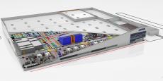 Modélisation 3D de la future usine Latécoère