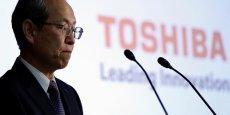 Nous allons faire tous les efforts avec les commissaires aux comptes pour être en mesure de publier notre bilan avant la nouvelle échéance du 10 août, promettait le 23 juin 2017, le Pdg de Toshiba, Satoshi Tsunakawa, lors de sa conférence de presse, alors que la Bourse de Tokyo, le Nikkei, annonçait la rétrogradation du titre à partir du 1er août.