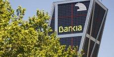 La Bourse de Madrid saluait l'annonce mardi, avec un titre Bankia en hausse de 4,02%, 4,19 euros, vers 13h03.