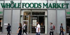 La chaîne de supermachés bios Whole Foods Market compte 460 enseignes en tout.