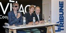 De gauche à droite : Philippe Barre, Jean-Marc Gancille et Jean-Philippe Déjean.