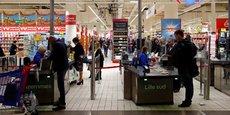Dans la grande distribution, plusieurs solutions IoT sont en développement pour améliorer l'approvisionnement des magasins.