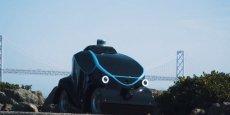 Cette voiture robot doit arpenter les rues de Dubaï avant la fin de l'année 2017.