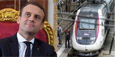 Emmanuel Macron veut revoir les priorités de l'État pour le ferroviaire.