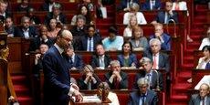 Le Premier ministre, Edouard Philippe, à l'Assemblée nationale.