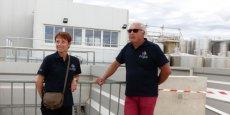 Nathalie Boisjot et Jean-Bernard Abassie, directrice et président des Vignerons du Pays d'Ensérune.