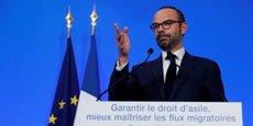 Edouard Philippe a présenté les grandes lignes du plan d'action du gouvernement concernant le droit d'asile et l'immigration, ce mercredi 12 juillet.