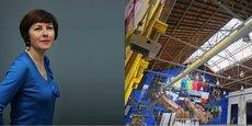 Carole Delga / Une partie des halles a déjà été transformée en un lieu dédié à l'événementiel, l'espace Cobalt.