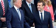 Donald Trump était invité par Emmanuel Macron pour célébrer le centenaire de l'intervention des Etats-Unis lors de la Première guerre mondiale.