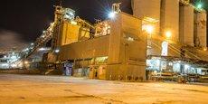 L'usine de Cimtogo à Lomé, filiale du groupe Heidelberg Cement, a une capacité de production de 750 000 Tonnes par an.