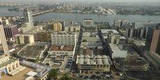Le Plateau, le quartier administratif, situé au cœur de la capitale ivoirienne Abidjan.