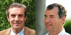 Henri de Cerval et Stéphane Vieban, respectivement président et directeur général de la coopérative Alliance Forêts Bois