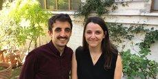 Julien Benayoun et Eva Sadoun.