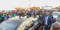 Les présidents Nana Akufu-Addo (g) et Faure Gnassingbé, lors de la visite officielle du président ghanéen au Togo, en mai dernier.