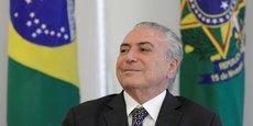 Michel Temer, Président de la République fédérative du Brésil.