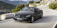 La Mercedes C43 AMG offre un super design, conforme à la Classe C dont elle dérivée.